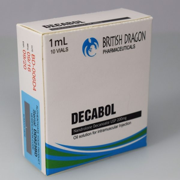 Decabol Inject British Dragon