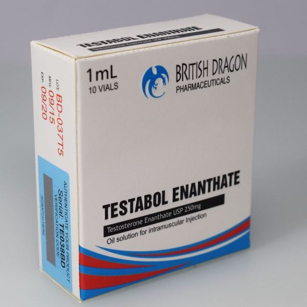 Testabol Enanthate Inject British Dragon