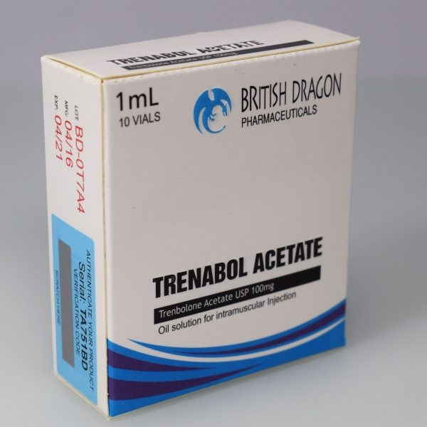 Trenabol Acetate Inject British Dragon
